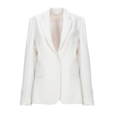 パロッシュ P.A.R.O.S.H. テーラードジャケット ホワイト L ポリエステル 100% テーラードジャケット