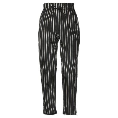 LES COYOTES DE PARIS パンツ ブラック 40 レーヨン 95% / ポリエステル 3% / ナイロン 2% / コットン パンツ
