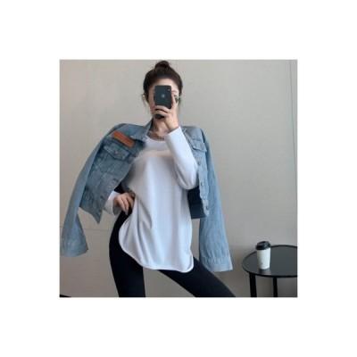 【送料無料】秋冬 韓国風 ルース 加厚?叉 無地のシャツ 何でも似合う シンプル 起   364331_A64228-4665491