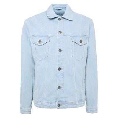 イー ディ シー バイ エスプリ ジャケット&ブルゾン メンズ アウター Denim jacket - blue bleached