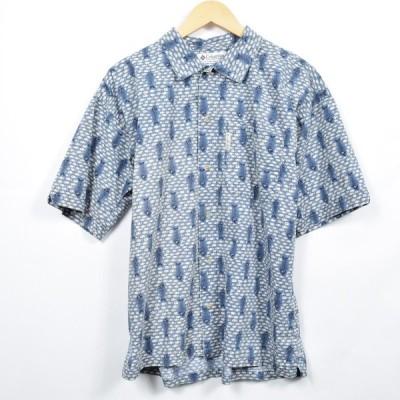 コロンビア ハワイアンアロハシャツ メンズXL /eaa030351