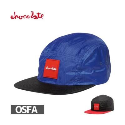 スケボー キャップ チョコレート CHOCOLATE RED SQUARE CAMPER HAT NO70