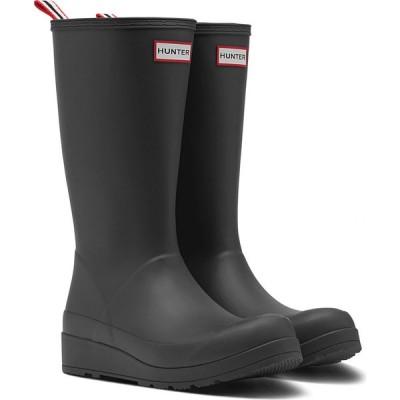 ハンター HUNTER レディース レインシューズ・長靴 シューズ・靴 Original Play Tall Waterproof Rain Boot Black