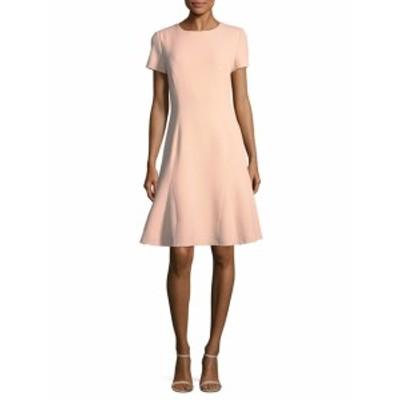 オスカーデラレンタ レディース ワンピース Wool Blend A-line Dress