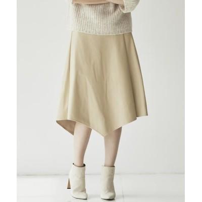Ketty Cherie/ケティ シェリー フェイクレザースカート キャメル M