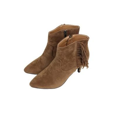 ISOOK / フリンジショートブーツ WOMEN シューズ > ブーツ