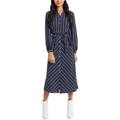 ライリー レイ レディース ワンピース トップス Sage Maxi Dress, Created for Macy's Preppy Navy