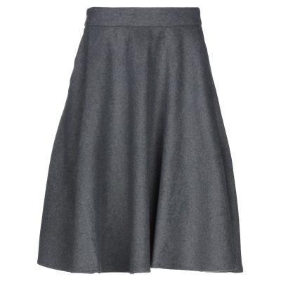 FRACOMINA ひざ丈スカート グレー 40 ポリエチレンテレフタラート 100% / ポリウレタン ひざ丈スカート