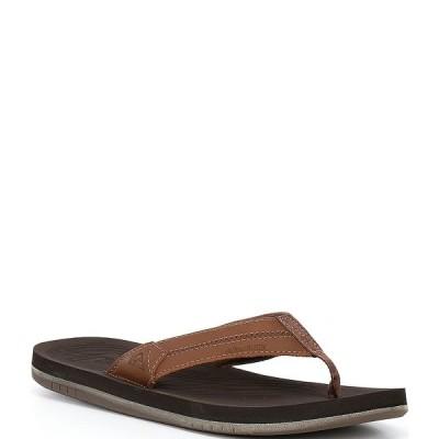 クイックシルバー メンズ サンダル シューズ Men's Coastal Oasis Deluxe Flip Flop Brown/Brown/Brown