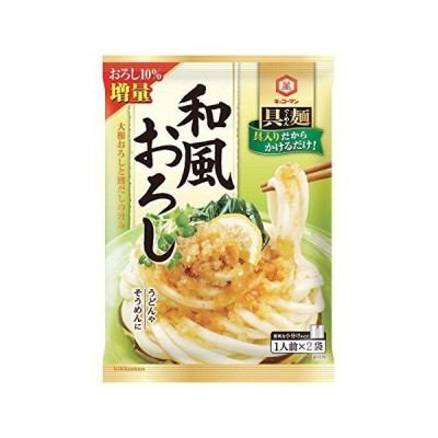 キッコーマン 具麺 和風おろし 120g×5個