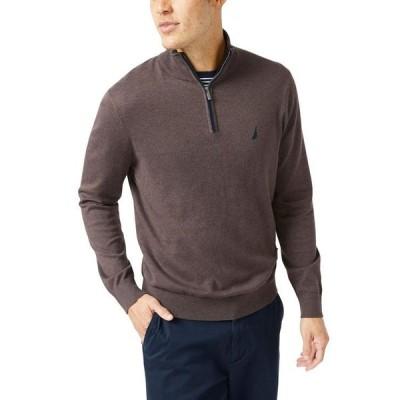 ナウティカ メンズ ニット・セーター アウター Men's Navtech Classic-Fit Quarter Zip Sweater