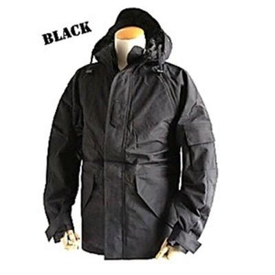 ds-1497018 アメリカ軍 ECWC S-1ジャケット/パーカー 【 Lサイズ 】 透湿防水素材 JP041YN ブラック 【 レプリカ 】 (ds1497018)