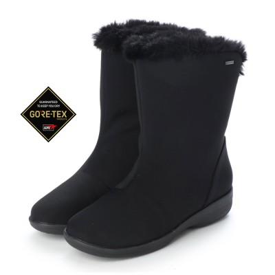【GORE-TEX】マドラスウォーク madras Walk  軽い!暖かい!歩きやすい! 人気のシンプルデザインブーツ  MWL2110 (ブラックテクスチャー)