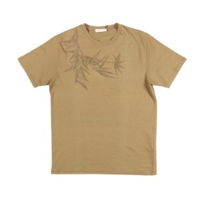 ETRO(エトロ) Uネック半袖Tシャツ U19 1Y020 9302 モスグリーン M 【S25875】