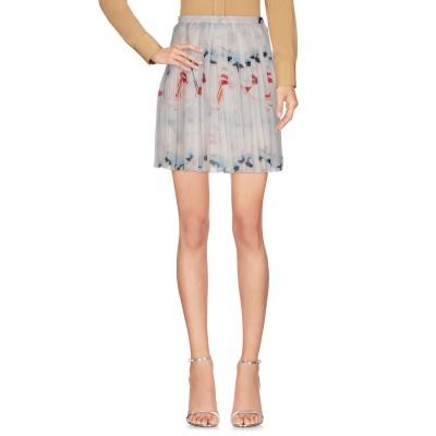 ジェレミー・スコット JEREMY SCOTT ミニスカート ホワイト 42 ポリエステル 100% ミニスカート