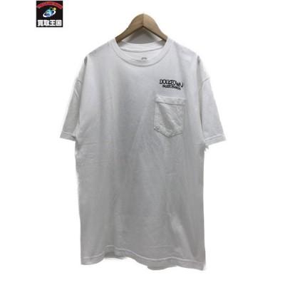 DOGTOWN ポケットTシャツ 白 L[▼]
