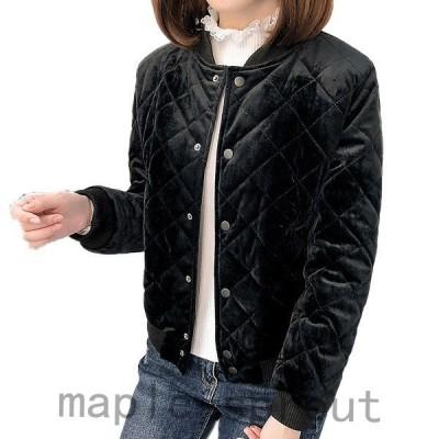 大人気!中綿ジャケットレディースブルゾン細身中綿コートショート丈軽量薄手アウター冬防寒ダウンコート新品韓国風