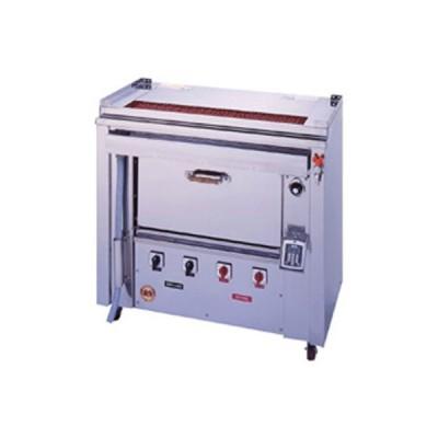 ヒゴグリラー オーブン付タイプ 業務用/新品 三相200V 幅1,000×奥行550×高さ950 (GOX-135)