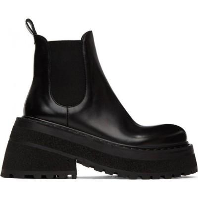 マルセル Marsell レディース ブーツ チェルシーブーツ シューズ・靴 Black Carretta Beatles Chelsea Boots Black