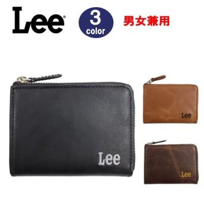 Lee リー 財布 小銭入れ Lファスナー 0520372 ウォレット コインケース  イタリアンレザー メンズ  LEE ag-299600