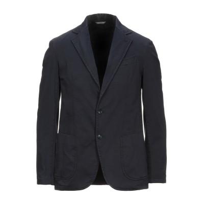 TOMBOLINI テーラードジャケット ダークブルー 50 コットン 98% / ポリウレタン 2% テーラードジャケット