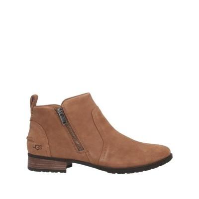 UGG AUSTRALIA ショートブーツ ファッション  レディースファッション  レディースシューズ  ブーツ  その他ブーツ キャメル