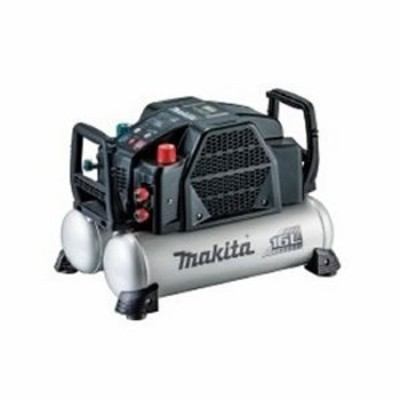 マキタ【makita】高圧エアーコンプレッサー16L(黒) AC462XGB★【2口高圧・2口一般圧】