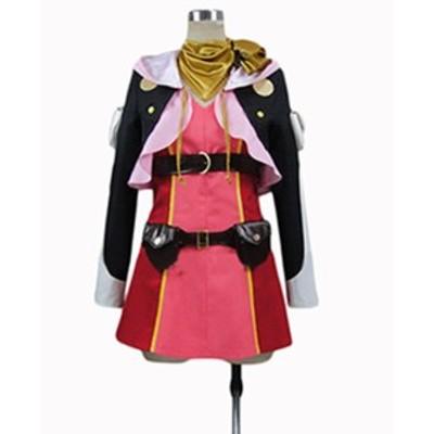 テイルズ オブ    ゼスティリア(TALES OF ZESTIRIA)    風   コスプレ衣装  ★完全オーダメイドも対応可能 * K4411