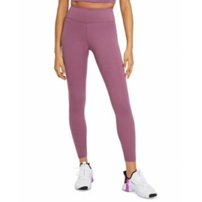 ナイキ レディース カジュアルパンツ ボトムス One Plus Size Women's Mid-Rise Leggings Light Mulberry