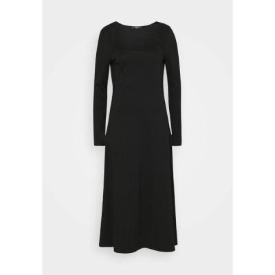 エスプリ ワンピース レディース トップス DRESS - Day dress - black