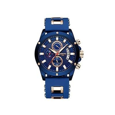 メンズ腕時計 クロノグラフ ビジネスドレス アナログクォーツウォッチ メンズ ラグジュアリー ブランド 日付 スポーツ時計