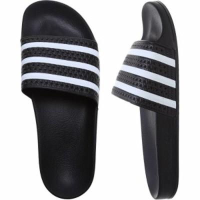 アディダス Adidas メンズ サンダル シューズ・靴 adilette sandals Black/White/Black