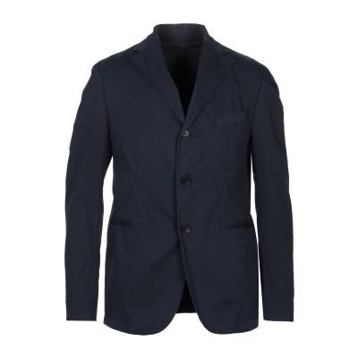 FUTURO テーラードジャケット ダークブルー 52 コットン 96% / 指定外繊維(その他伸縮性繊維) 4% テーラードジャケット