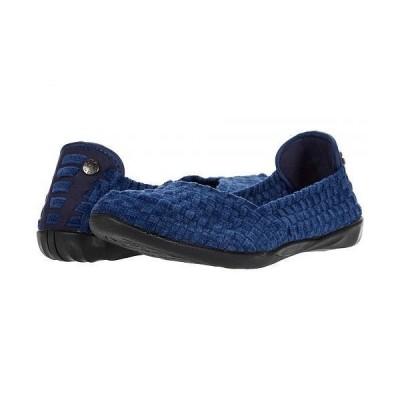 bernie mev. ベルニー レディース 女性用 シューズ 靴 フラット Catwalk CNL - Jeans Chenile