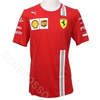 PUMA スクーデリア フェラーリ チーム C.ルクレール Tシャツ 2020 レッド 763039-01