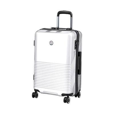 フィラ スーツケース 超軽量双輪 FILAサークルロゴエンブレム 22インチ TSAロック 51L 57 cm 3.2kg ホワイト