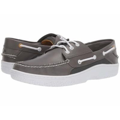 スペリー デッキシューズ シューズ メンズ Billfish 3-Eye Boat Shoe Grey