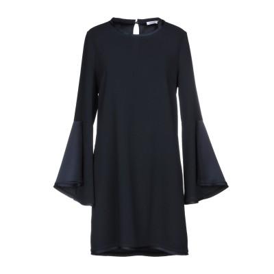 パロッシュ P.A.R.O.S.H. ミニワンピース&ドレス ブラック L ポリエステル 100% ミニワンピース&ドレス