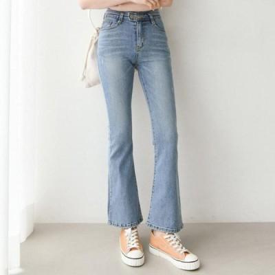 GIRLS RULE レディース ジーンズ 1050 light Flared denim pants