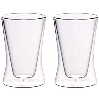 タンブラー ペアセット 耐熱 二重ガラス