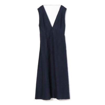 【シップス/SHIPS】 CORTANA:リネンVネックドレス