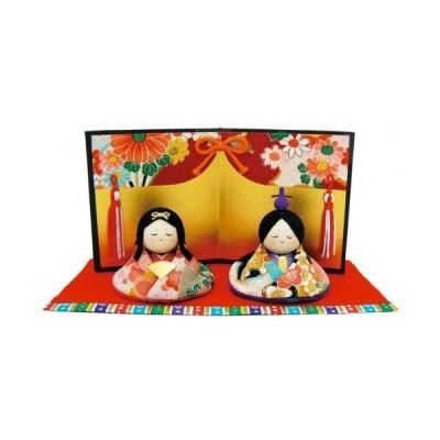 ひなまつり <br>『友禅おすまし雛』<br>手作り雛人形<br>なごみの和雑貨