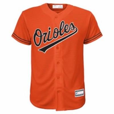 Outerstuff アウタースタッフ スポーツ用品  Baltimore Orioles Youth Orange Alternate Replica Blank Team Jersey