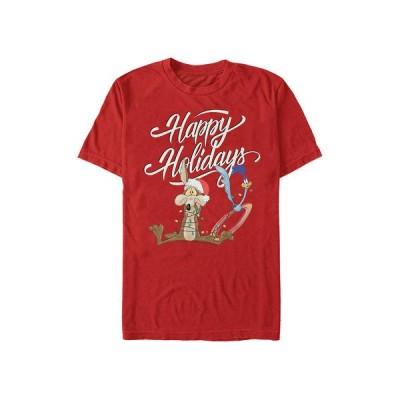 ロンリーチューン シャツ トップス メンズ Looney Tunes Holiday Wrap Up Graphic T-Shirt -