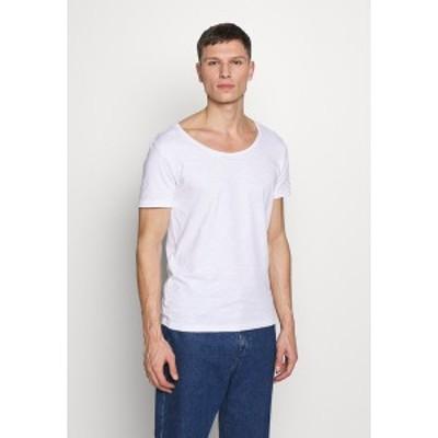 ピアワン メンズ Tシャツ トップス Basic T-shirt - bright white bright white