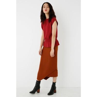 Asymmetry Skirt BRN