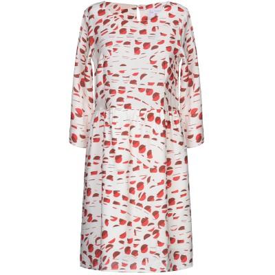 COMPAÑIA FANTASTICA ミニワンピース&ドレス ベージュ XS レーヨン 85% / ナイロン 15% ミニワンピース&ドレス