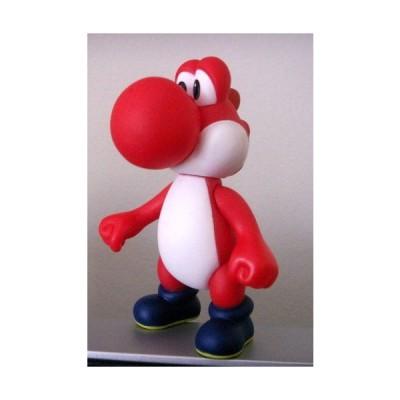 "5"" RED YOSHI PVC Rubber Figure ~Super Mario Characters~ フィギュア ダイキャスト 人形"