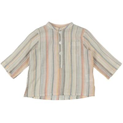 BONTON シャツ アイボリー 6 コットン 100% シャツ