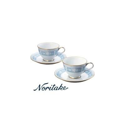 【ノリタケ】≪レースウッドゴールド≫ ティー・コーヒー碗皿ペア